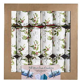 6 Eco Friendly 'Fill Your Own' Christmas Crackers