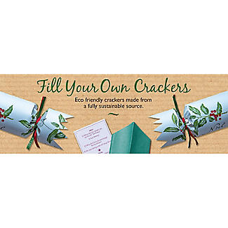 6 Eco Friendly 'Fill Your Own' Christmas Crackers  alt image 3