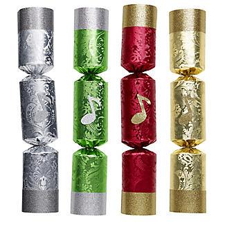 Handbell Musical Christmas Crackers - Pack of 8 alt image 2
