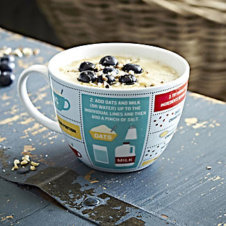 Perfect Porridge In A Mug - Gift Mug With Recipe & Instructions alt image 2