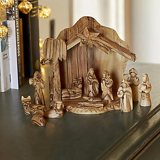 Olive Wood Nativity Scene alt image 3