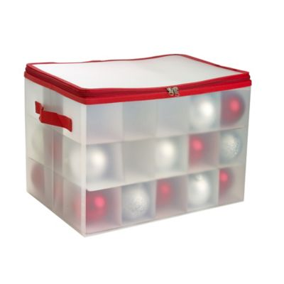 christmas ornament storage decoration storage box 12812