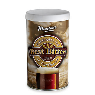 Muntons Premium Best Bitter Homebrew Beer Making Kit (40pts)