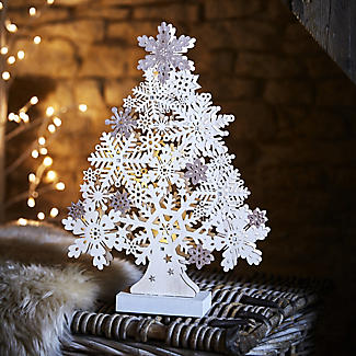 LED Snowflake Tree alt image 2