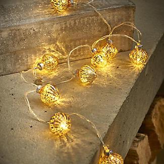Gläserne LED-Lichterkette alt image 2
