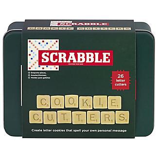 Scrabble Cookie Cutters