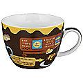 Chocolate & Peanut Butter Cupcake In A Mug