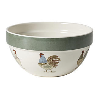 Artisan Hen Small Mixing Bowl
