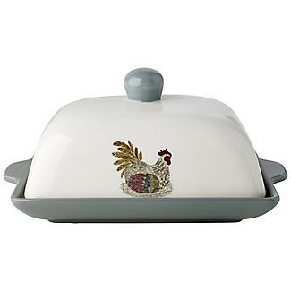 Artisan Hen Butter Dish