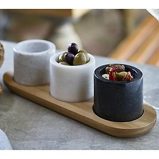 Artesa Marble Serving Dishes alt image 2