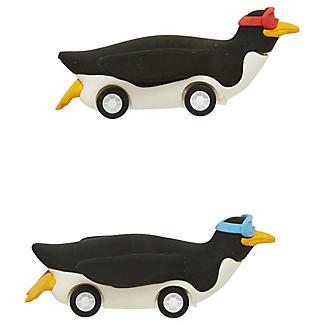 2 Penguin Racer Erasers