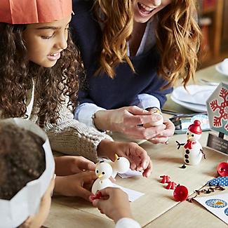 6 Build-a-Snowman Crackers alt image 3