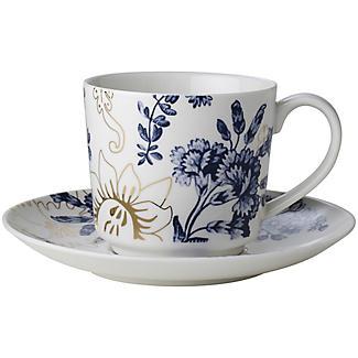 Teetasse mit Untertasse Palmer's Silk von V&A