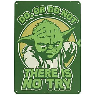 Star Wars™ Yoda Metal Wall Sign