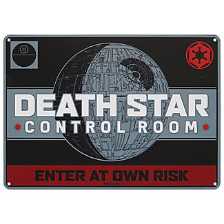 Star Wars™ Todesstern metallenes Wandschild