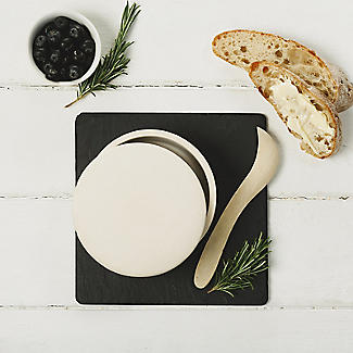 Just Slate Stoneware Gourmet Cheese Baker alt image 2