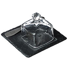 Just Slate Mini Butter Cloche Set