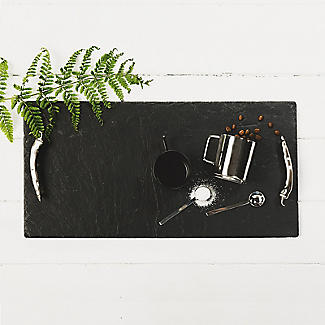 Just Slate Large Serving Tray with Chilli Handles alt image 2