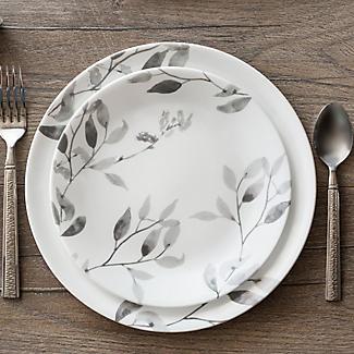 "Corelle® 12-teiliges Essgeschirr ""Misty Leaves""-Muster alt image 4"