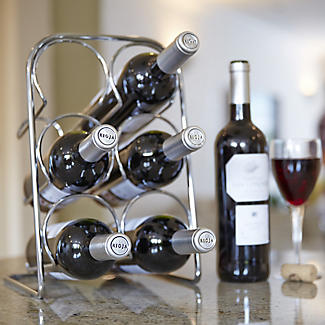 Hahn Pisa 6-Bottle Wine Rack alt image 3