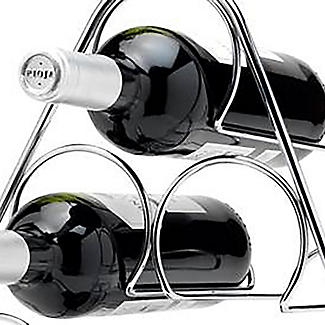 Hahn Pisa 6-Bottle Pyramid Wine Rack alt image 2
