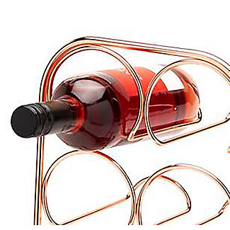 Hahn Pisa 6-Bottle Copper-Plated Wine Rack alt image 3