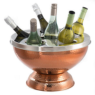 6 Bottle Copper Wine and Champagne Cooler