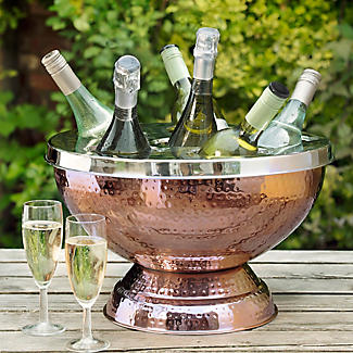 6 Bottle Copper Wine and Champagne Cooler alt image 3