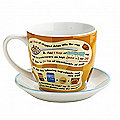 Sticky Toffee Pudding In A Mug With Saucer