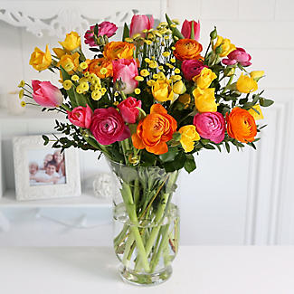 Bright Spring Bouquet With Free Express Delivery