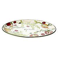 Buon Appetito Oval Serving Platter