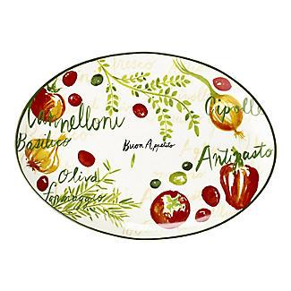 Buon Appetito Oval Serving Platter alt image 4