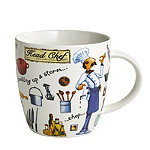 Head Chef Illustrated Mug 400ml