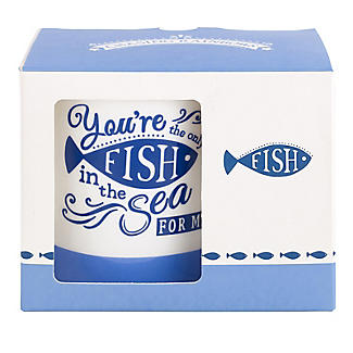 Chasing Rainbows You're The Only Fish In The Sea Mug 300ml