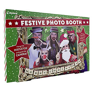 Festive Photobooth Frame and Props Set