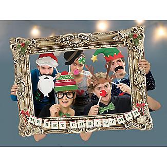 Festive Photobooth Frame and Props Set alt image 2
