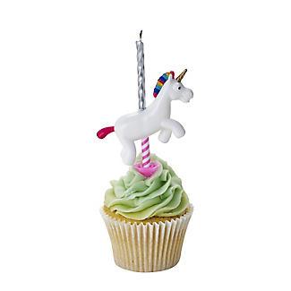 Unicorn Birthday Candle Holder Alt Image 2