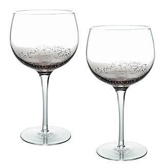 Bubble Glass Balloon Gin Glasses - Set of 2 alt image 1