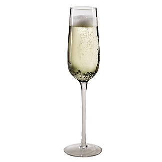 Bubble Glass Prosecco Flutes - Set of 2 alt image 3