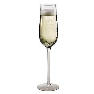 Bubble Glass Prosecco Flutes - Set of 2 alt image 3