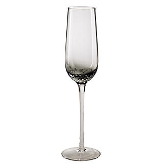 Bubble Glass Prosecco Flutes - Set of 2 alt image 4