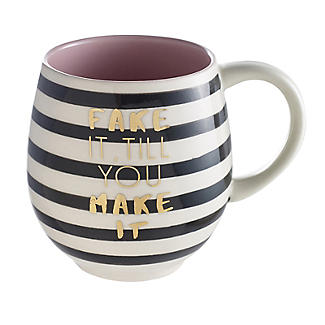 Fake It Till You Make It Mug 470ml alt image 1