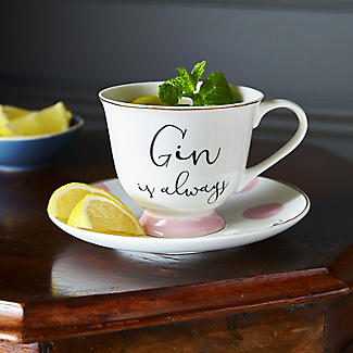 Ava & I Gin and Tonic Cup and Saucer alt image 5