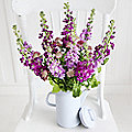 Cottage Garden Coffee Pot Bouquet With Free Express Delivery