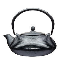 Le'Xpress Cast Iron Infuser Teapot Black 900ml