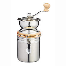 Le'Xpress Stainless Steel Traditional Coffee Grinder