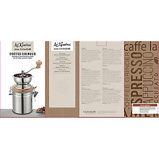 Le'Xpress Stainless Steel Traditional Coffee Grinder alt image 3