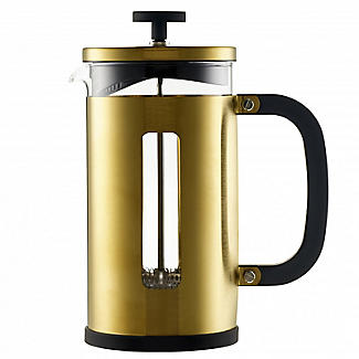 La Cafetière Edited Pisa 8 Cup Cafetière Brushed Gold