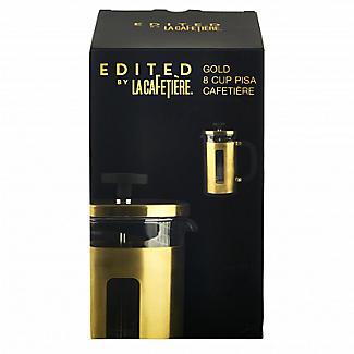 La Cafetière Edited Pisa 8 Cup Cafetière Brushed Gold alt image 7