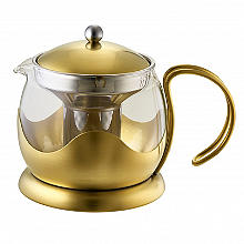 La Cafetière Edited 4-Cup Le Teapot Brushed Gold 1.2L